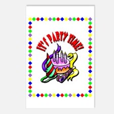 It's My Birthday Postcards (Package of 8)