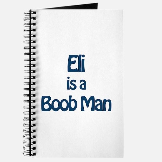 Eli is a Boob Man Journal