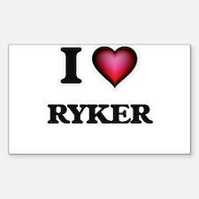 I love Ryker Decal