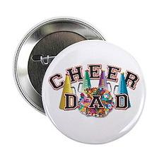 """Cheer Dad 2.25"""" Button"""