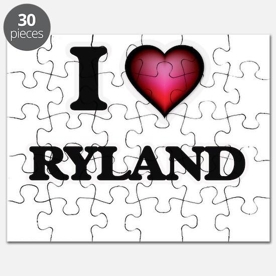 I love Ryland Puzzle