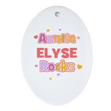 Elyse Oval Ornament