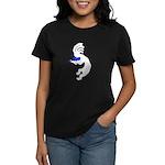 Kokopelli Violin Women's Dark T-Shirt