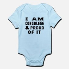 I Am Congolese And Proud Of It Infant Bodysuit