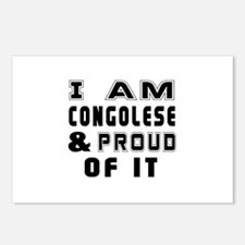 I Am Congolese And Proud Postcards (Package of 8)