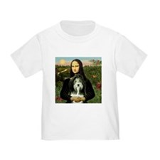 Mona Lisa & Beardie #9 T