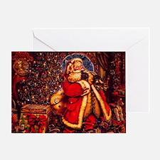 Old Fashioned Santa Greeting Card