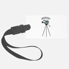 Videography Luggage Tag