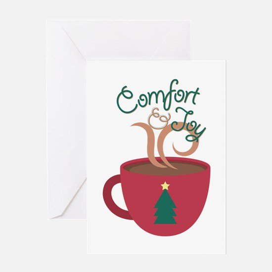 Comfort & Joy Greeting Cards
