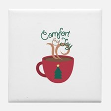 Comfort & Joy Tile Coaster