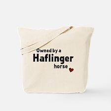 Haflinger horse Tote Bag