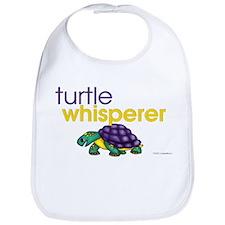 Turtle Whisperer Bib