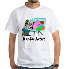 A is for Artist Shirt