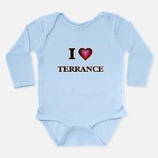 I love Terrance Body Suit