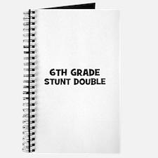 6th Grade Stunt Double Journal