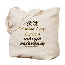 Manga Reference Joke Tote Bag