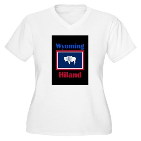 Hiland Wyoming Plus Size T-Shirt