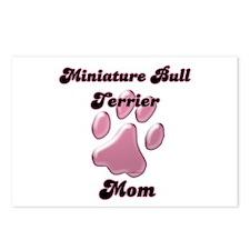 Mini Bull Mom3 Postcards (Package of 8)