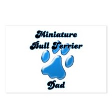 Mini Bull Dad3 Postcards (Package of 8)