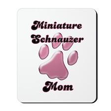 Mini Schnauzer Mom3 Mousepad