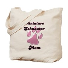 Mini Schnauzer Mom3 Tote Bag
