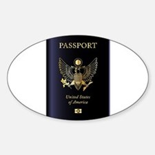 United States of America Passport Decal