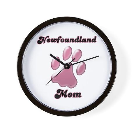 Newfoundland Mom3 Wall Clock