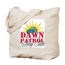 Dawn Patrol at the Jersey Short Tote Bag