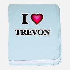 I love Trevon baby blanket