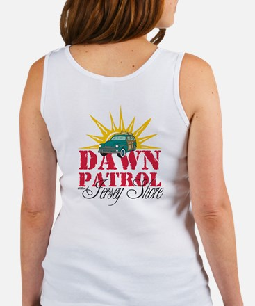 Dawn Patrol at the Jersey Shore Women's Tank Top