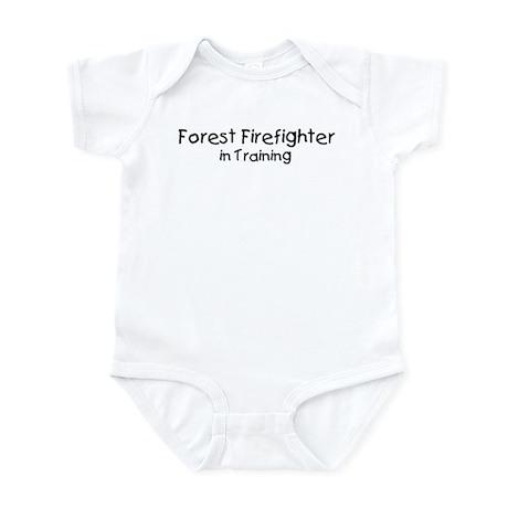 Forest Firefighter in Trainin Infant Bodysuit
