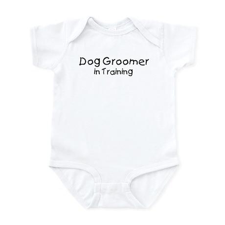 Dog Groomer in Training Infant Bodysuit