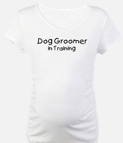 Dog Groomer in Training Shirt
