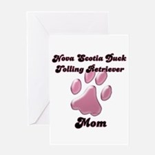 Toller Mom3 Greeting Card