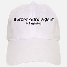 Border Patrol Agent in Traini Baseball Baseball Cap