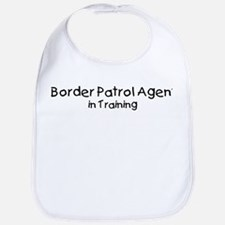 Border Patrol Agent in Traini Bib