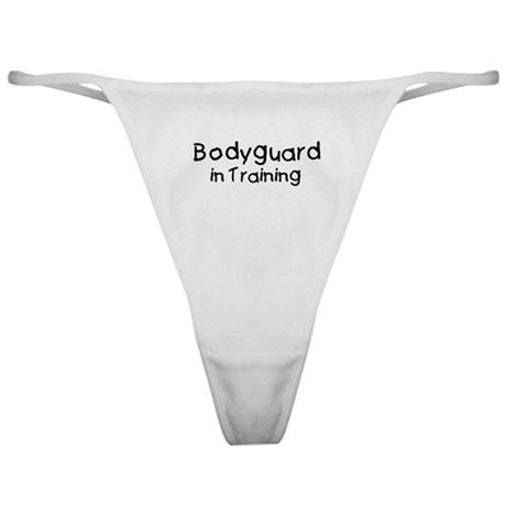 Bodyguard in Training Classic Thong