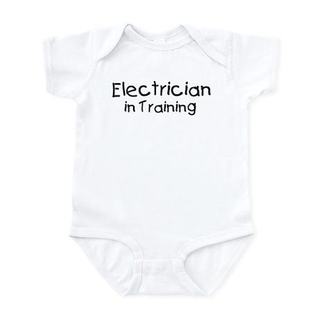 Electrician in Training Infant Bodysuit