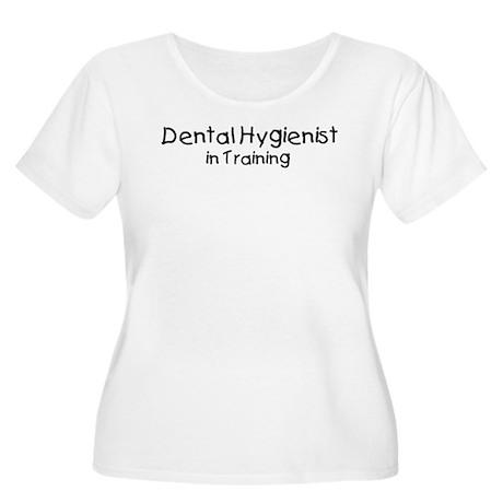 Dental Hygienist in Training Women's Plus Size Sco