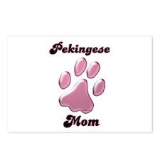 Pekingese Mom3 Postcards (Package of 8)
