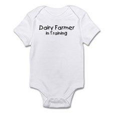 Dairy Farmer in Training Infant Bodysuit