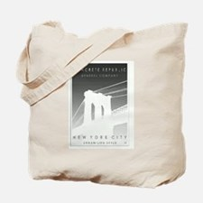 Cute New york deco Tote Bag