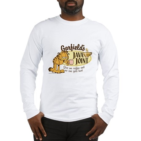 Java Joint Garfield Long Sleeve T-Shirt