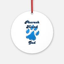 Pharaoh Dad3 Ornament (Round)