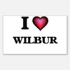 I love Wilbur Decal