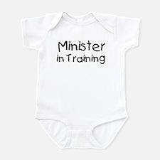 Minister in Training Onesie