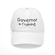 Governor in Training Baseball Cap