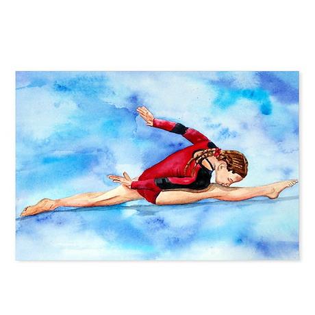 Gymnastics Final Split Postcards (Package of 8)