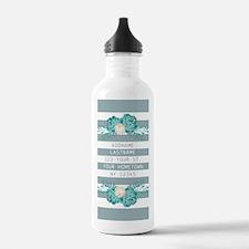 Cute Modern Spring Flo Water Bottle