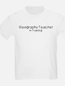Geography Teacher in Training T-Shirt